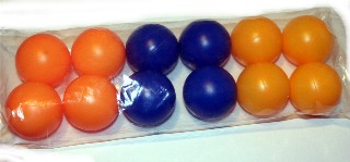 Colored Ping Pong Balls 3 image